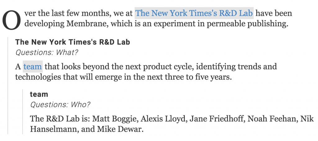 New York Times Membrane - Admixer Blog