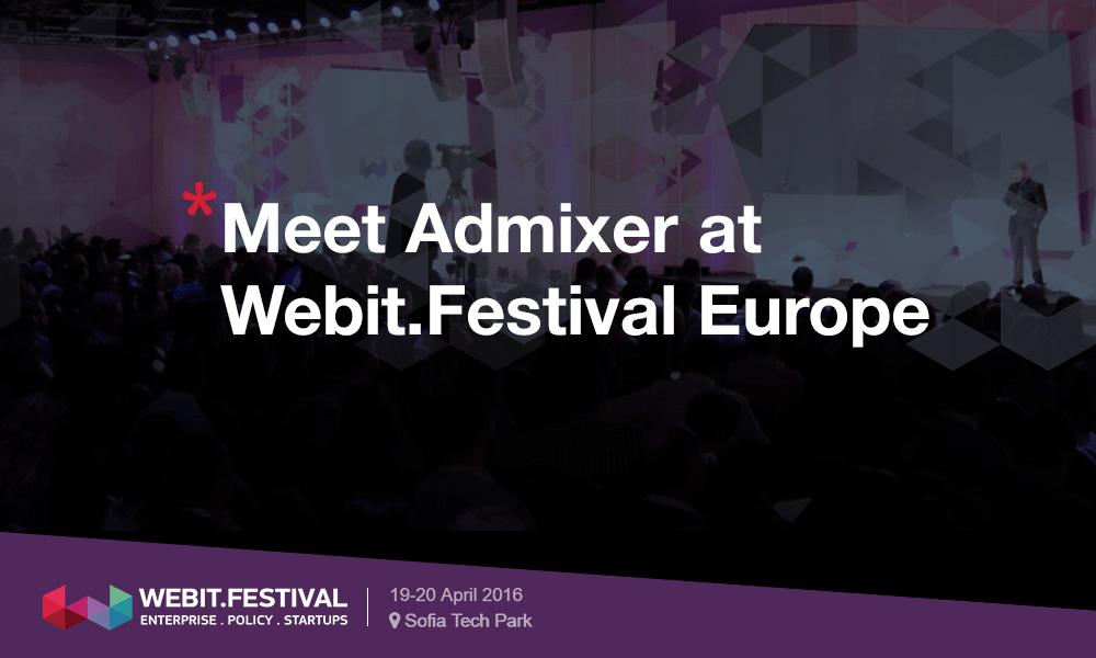 Admixer participate in Webit.Festival