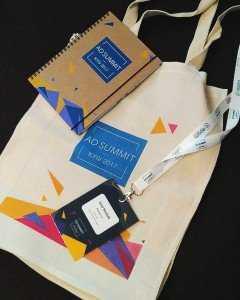 Souvenirs at Ad Summit Kyiv 2017