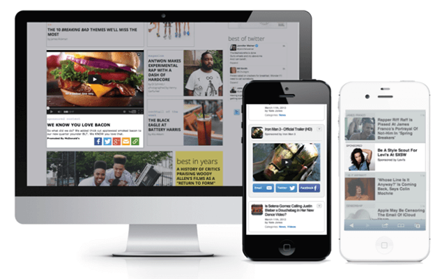 Programmatic native advertising examples- Admixer.blog
