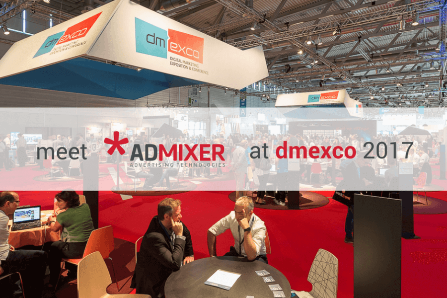 Admixer team attend DMEXCO Cologne