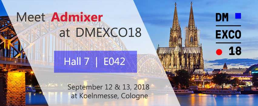 Admixer Ad Network at DMEXCO18