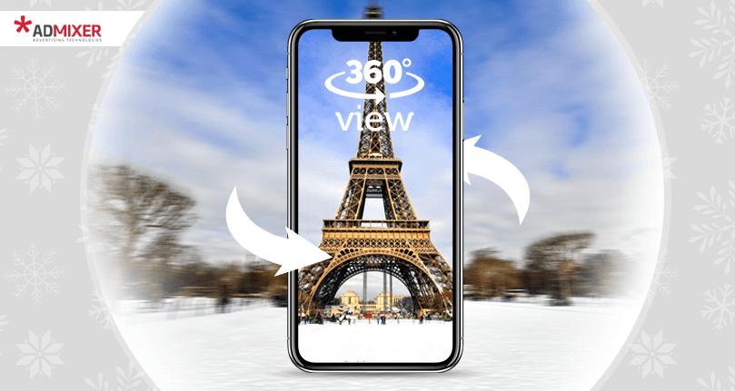 Mobile 360 Interactive Videos Rich Media Ads - Admixer Creatives