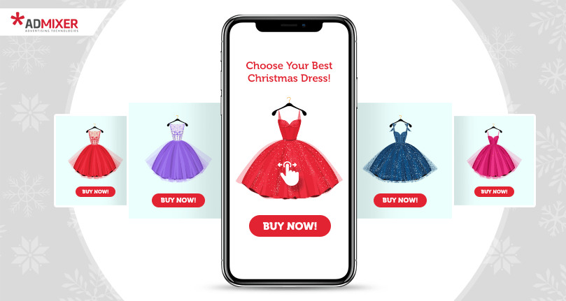 Mobile Swipe Rich Media Ads for eCommerce - Admixer Creatives