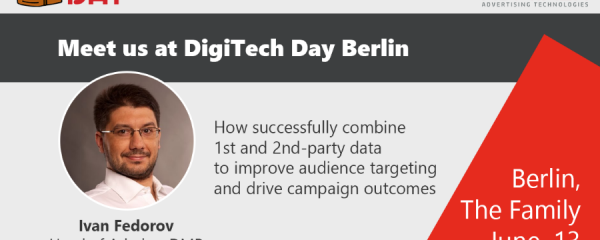 Admixer Blog - Digitech Day Berlin 2019