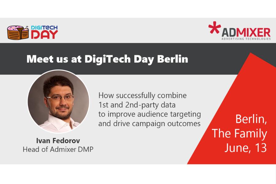 Admixer Blog - Digitech Day Berlin 2019