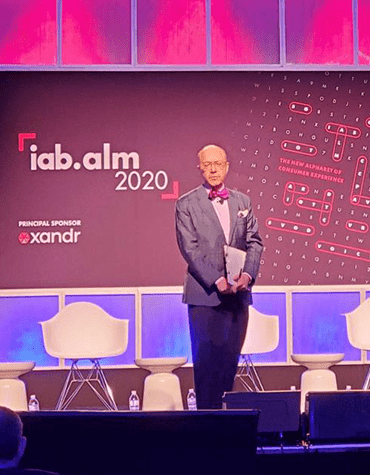 Randall Rothenberg, CEO at IAB, welcome & opening remarks