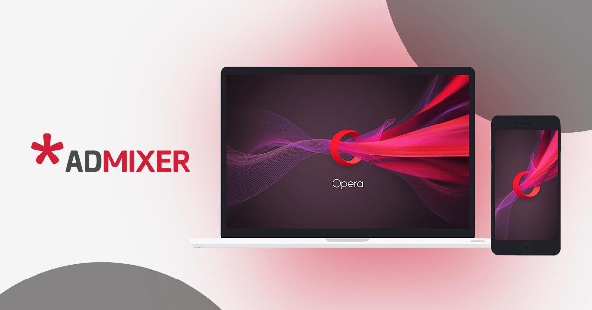 Opera partnership FB-Admixer.Blog